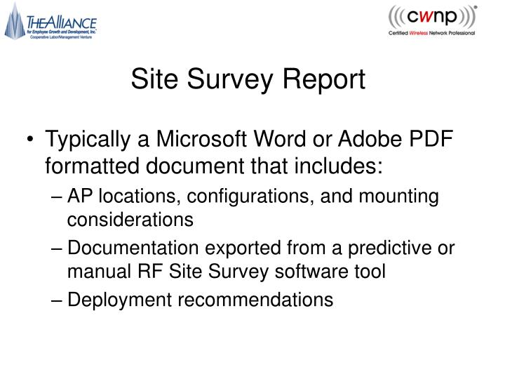 Site Survey Report