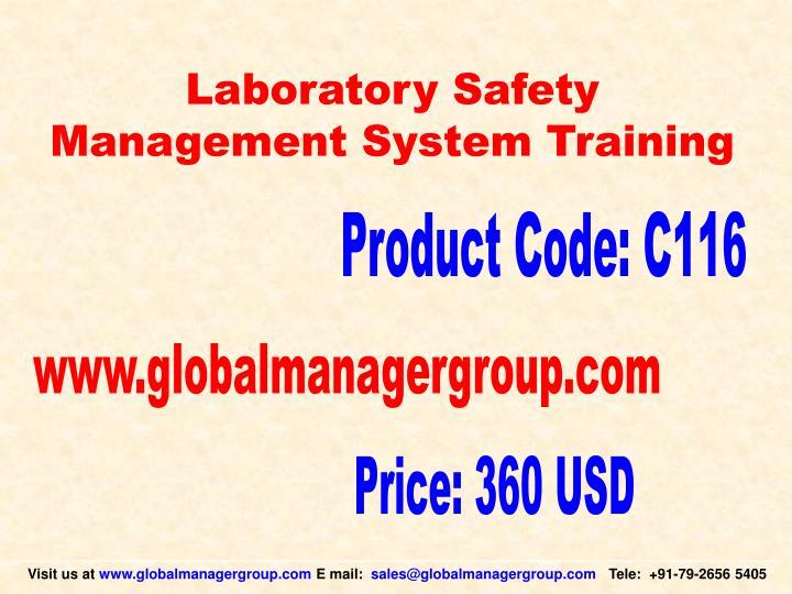 Laboratory Safety
