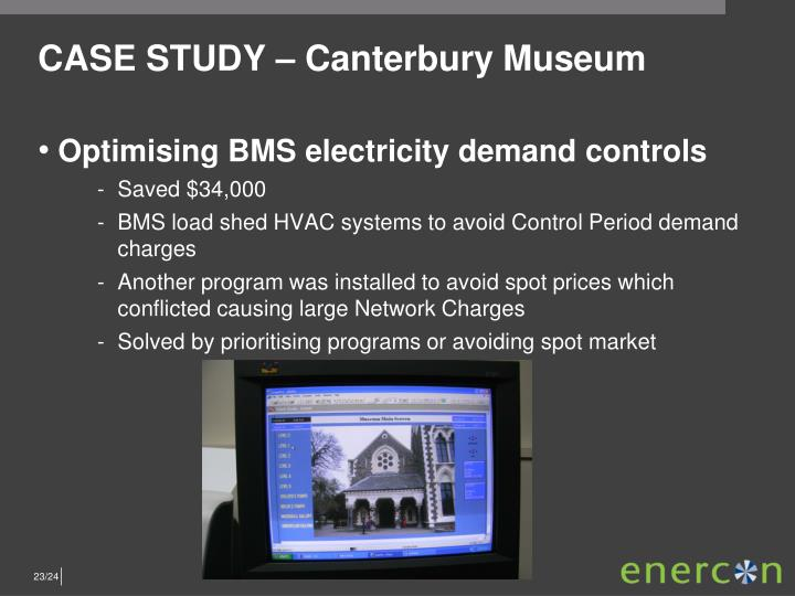 CASE STUDY – Canterbury Museum