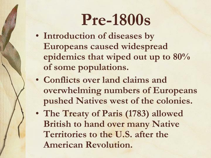 Pre-1800s