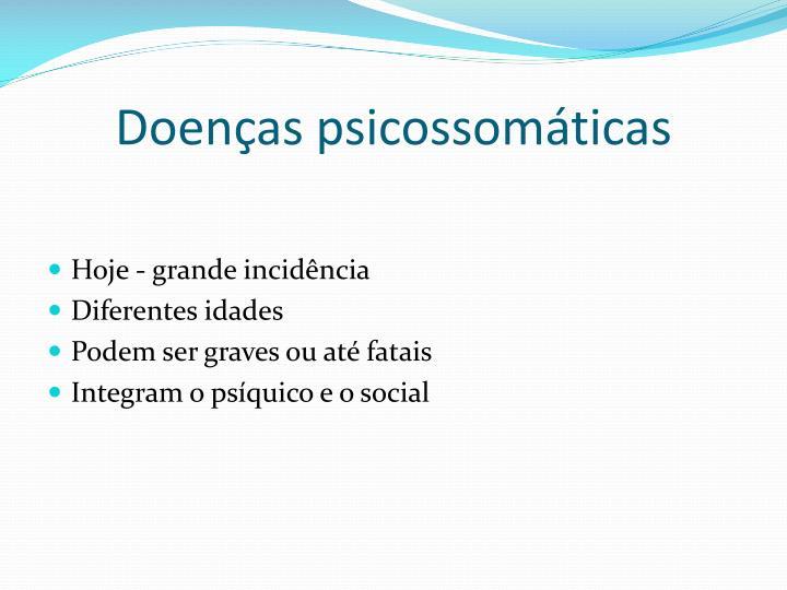 Doenças psicossomáticas