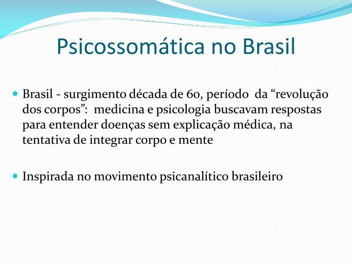 Psicossomática no Brasil