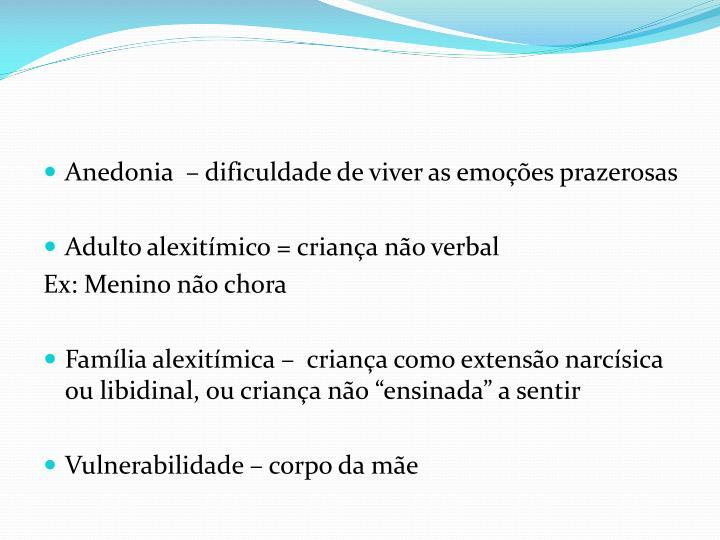 Anedonia