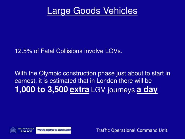 Large Goods Vehicles
