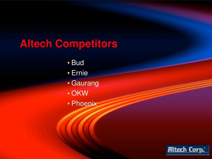 Altech Competitors