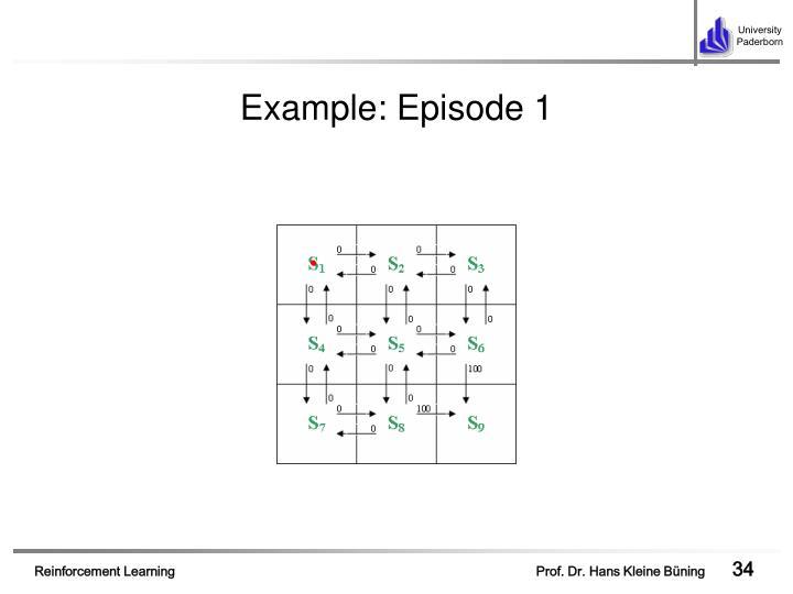 Example: Episode 1