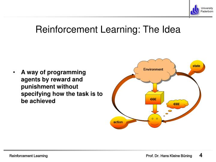 Reinforcement Learning: The Idea