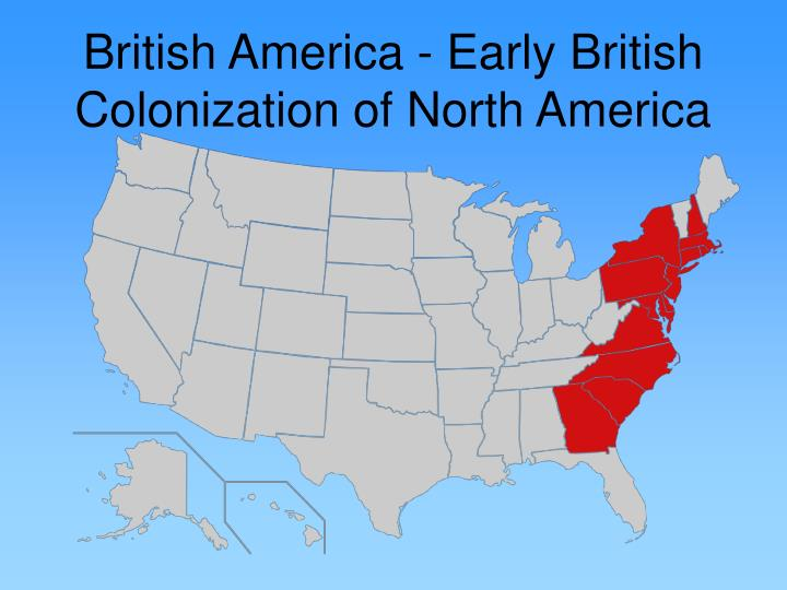 what factors contributed to england s establishment of its first successful north american colonies A few key factors contributed to pennsylvania's the first settlement at st mary's, just north of the middle, chesapeake, and southern colonies.