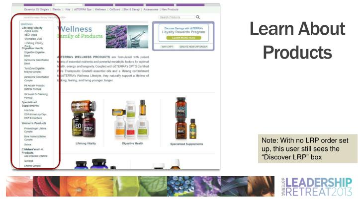 Learn About Products