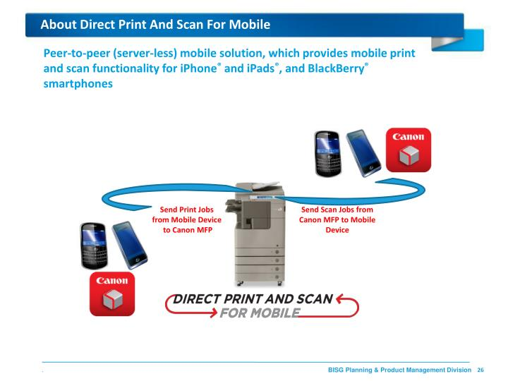 About Direct Print And Scan For Mobile