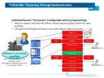 follow me scanning through authentication