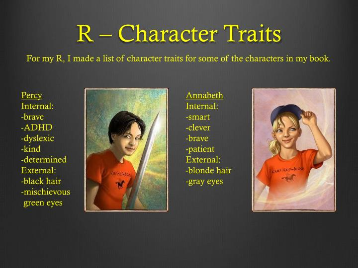 R character traits
