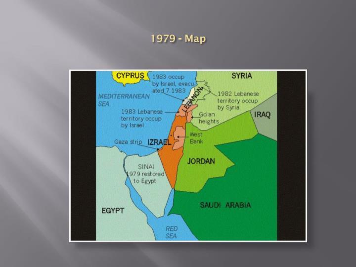 1979 - Map
