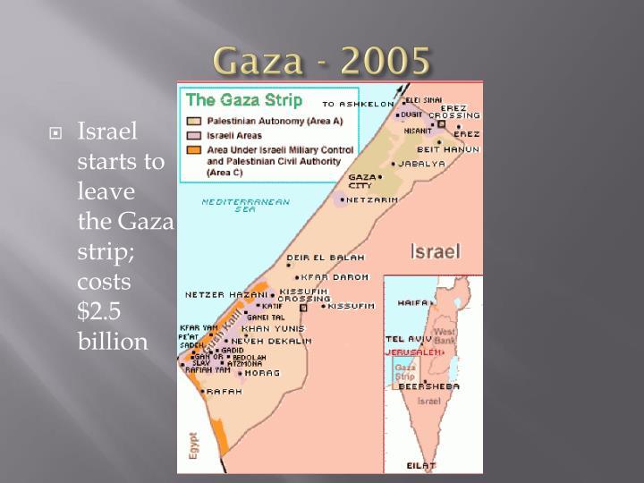 Gaza - 2005