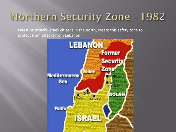 Northern Security Zone - 1982