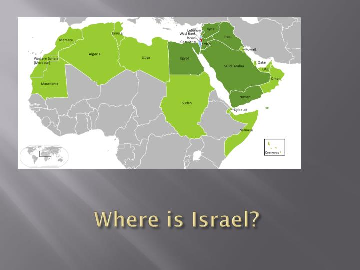 Where is Israel?