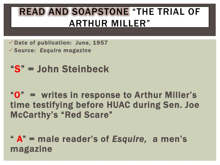 Read and soapstone