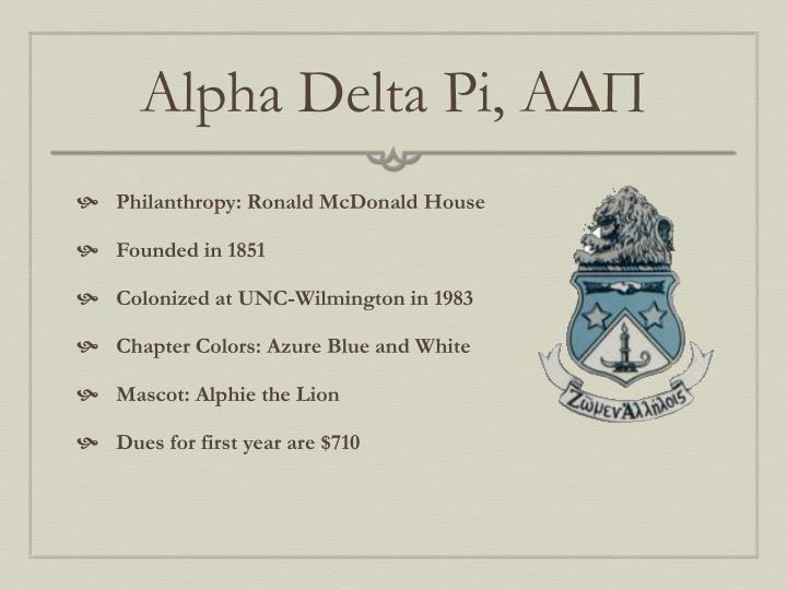 Alpha Delta Pi,