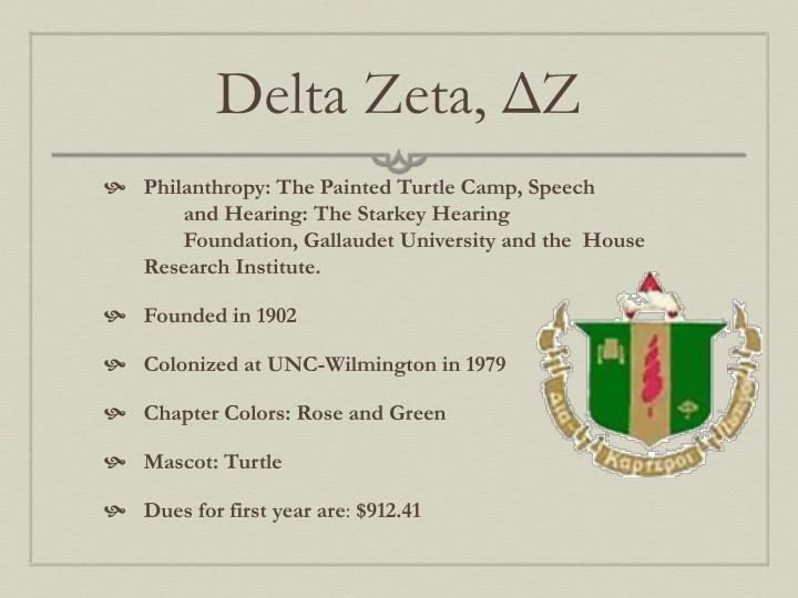 Delta Zeta,