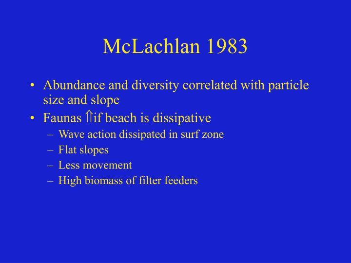 McLachlan 1983