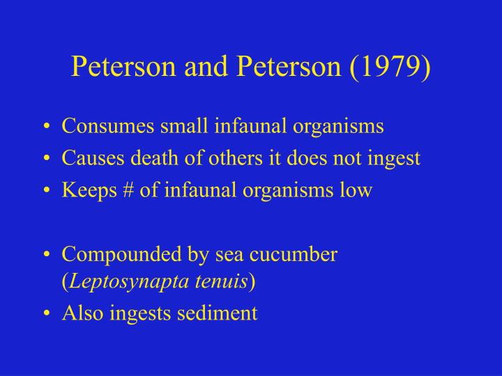 Peterson and Peterson (1979)