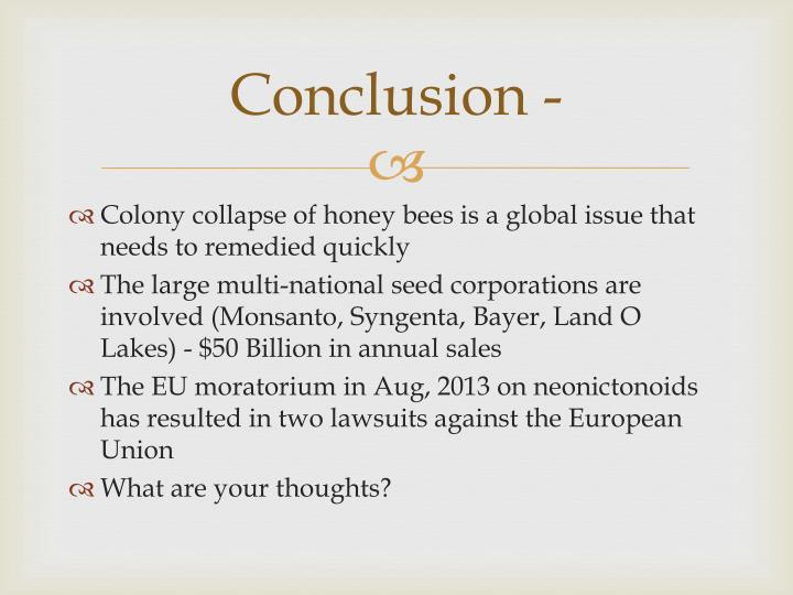 Conclusion -