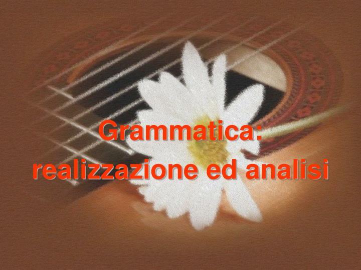 Grammatica: