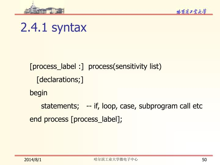 2.4.1 syntax