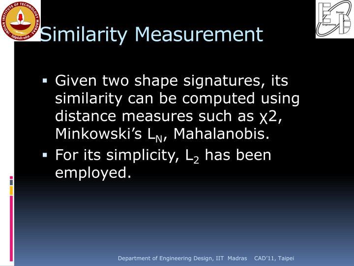 Similarity Measurement