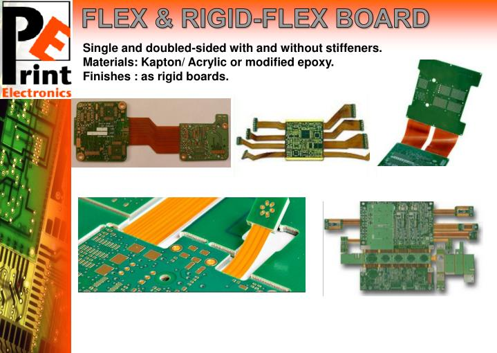 FLEX & RIGID-FLEX BOARD