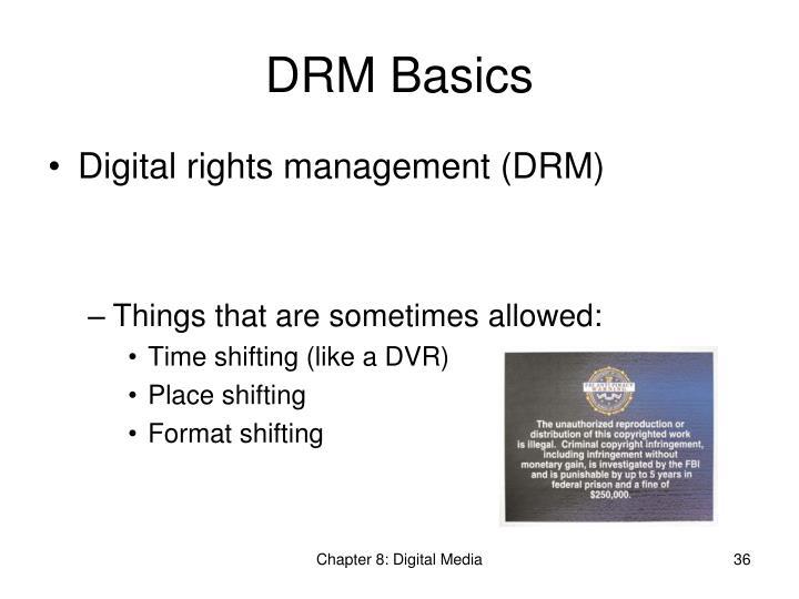 DRM Basics