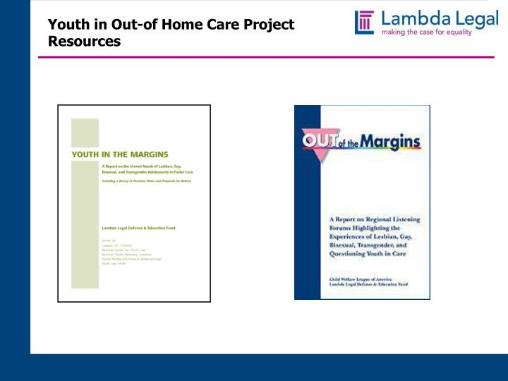 Youth in Out-of Home Care Project