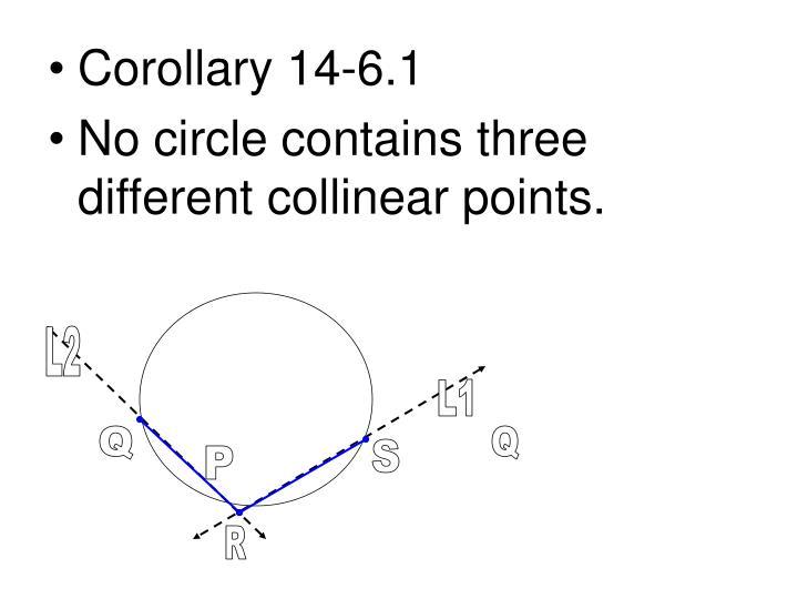 Corollary 14-6.1