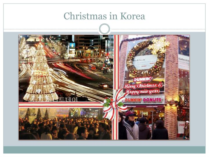 Christmas in Korea