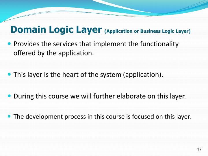 Domain Logic Layer
