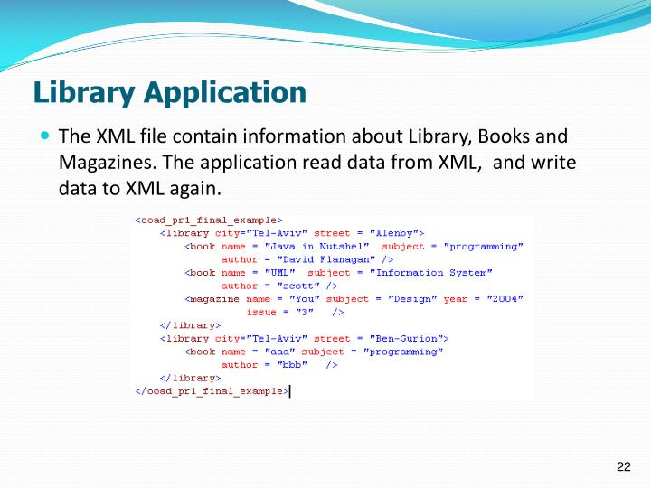 Library Application