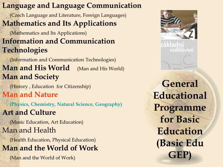 Language and Language Communication