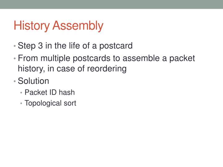 History Assembly