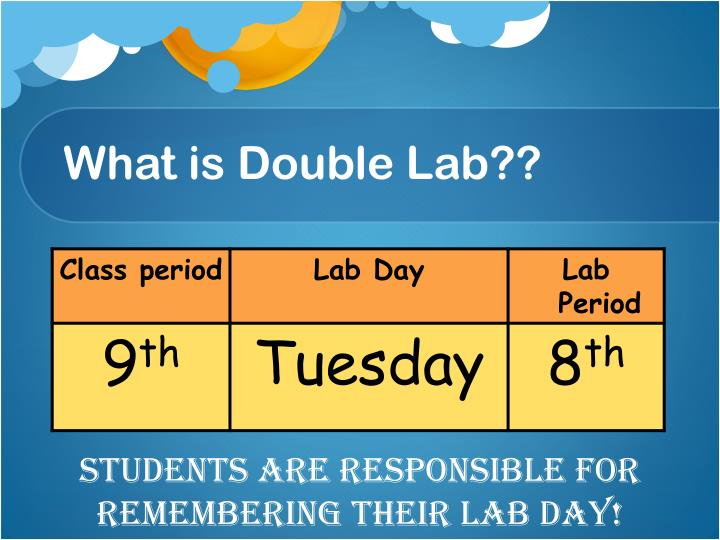 What is double lab