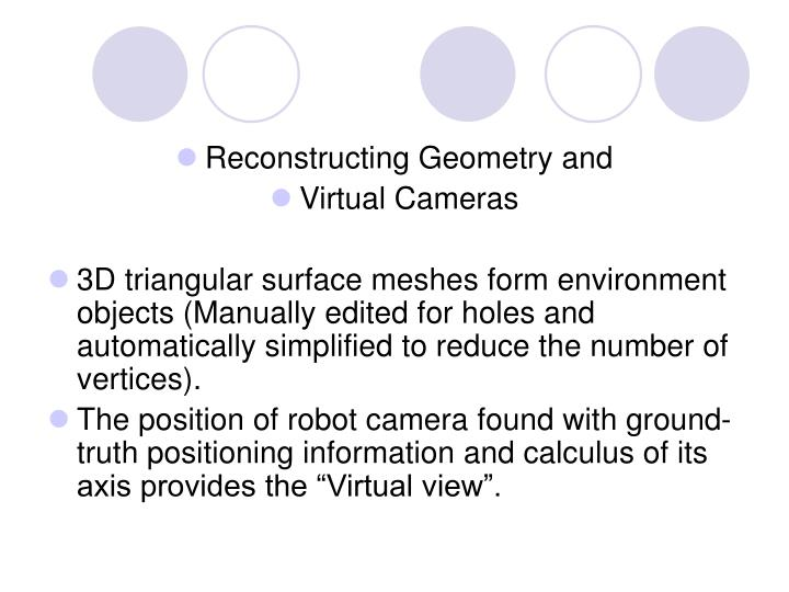 Reconstructing Geometry and