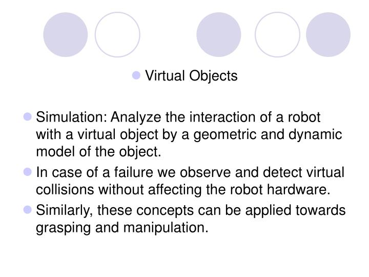 Virtual Objects