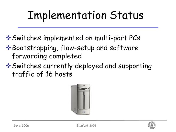Implementation Status