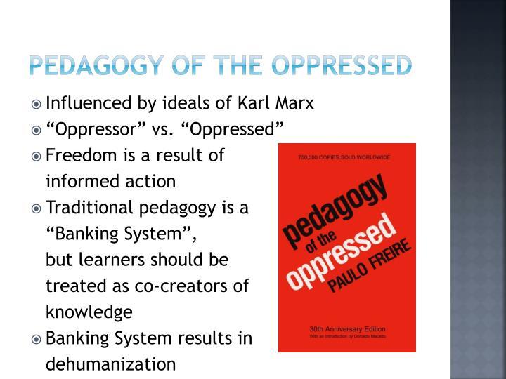 pedagogy of the oppressed chapter