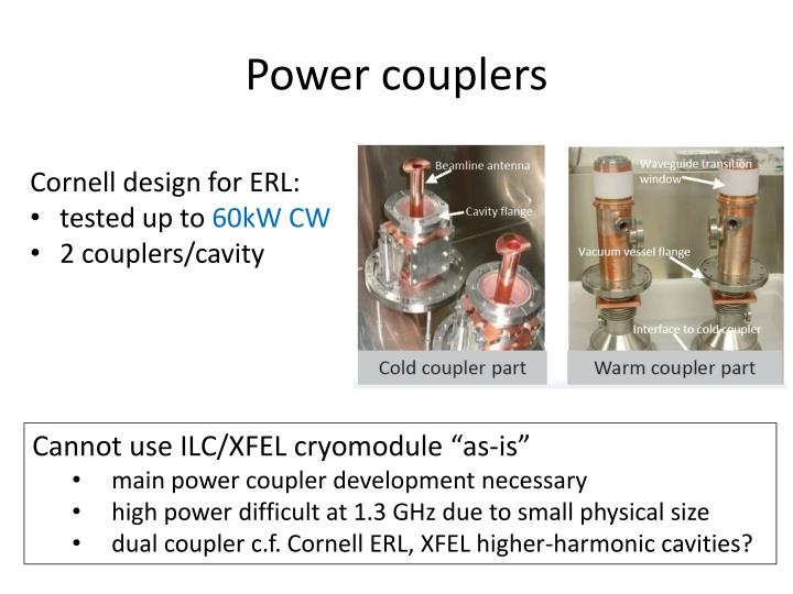 Power couplers