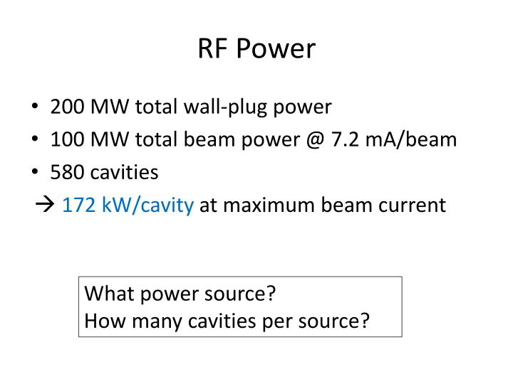 RF Power