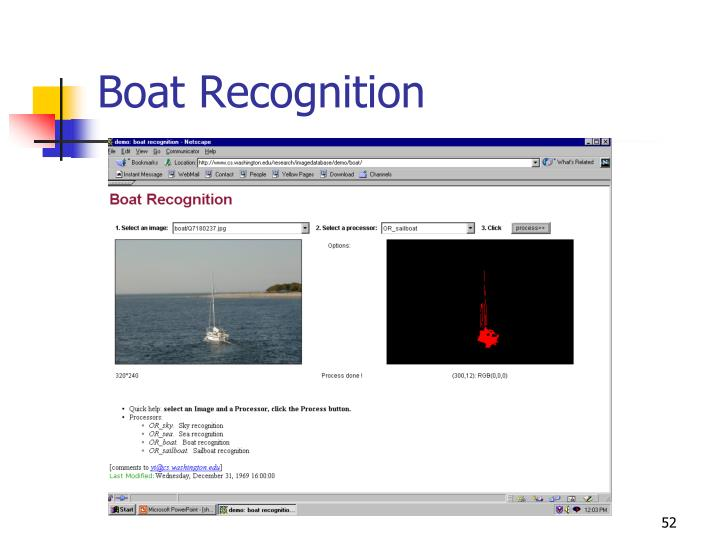 Boat Recognition