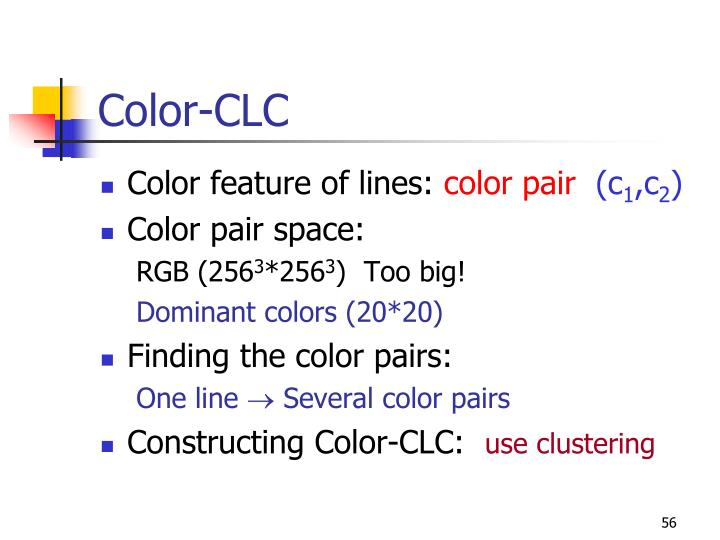 Color-CLC