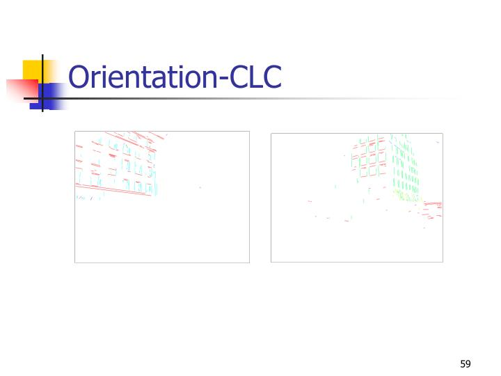 Orientation-CLC