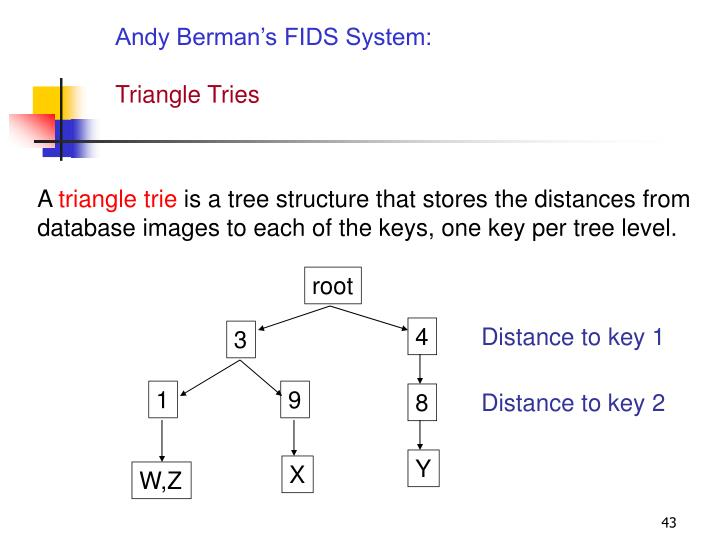 Andy Berman's FIDS System: