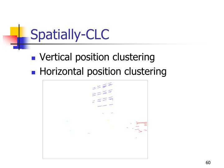 Spatially-CLC